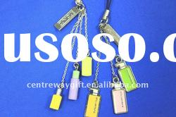 phone accessory metal key chain zinc alloy key chain
