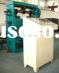 pieces in expanded metal mesh machine