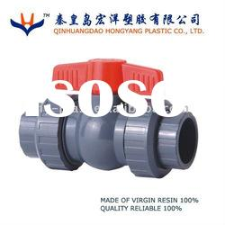 pvc true union ball valve 3""