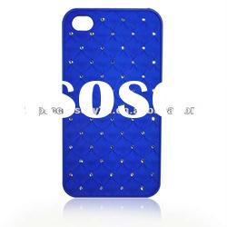 rhinestone cell phone case for iphone4