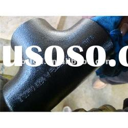 seamless butt welding carbon steel equal tees sch160
