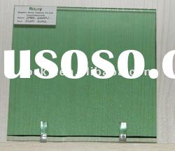 sell 3-10mm tinted dark green float glass sheet for building