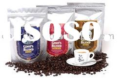 stand up coffee bag , stand up coffee pouch