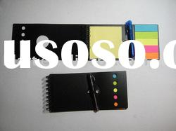 sticky note with ballpen /memo set / promotion gift / memo book