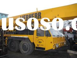 used liebherr mobile truck mounted crane