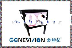 """17"""" lcd screen advertising outdoor for chain stores"""