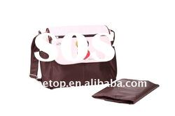 Customer Newest AZO & Phthalates Free Microfiber Baby Diaper Bag