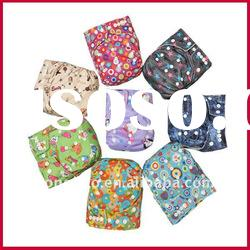 FASHION CUTE PRINTED WATERPROOF MATERIAL BABY CLOTH NAPPY/DIAPERS
