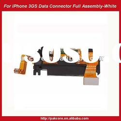 For iPhone 3GS Data Connector With Antenna Full Assembly Replacement-White