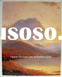 Hand painted classical landscape painting
