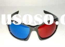 Popular 3D PC Glasses / Red and Blue Lens 3D Glasses with Best Price
