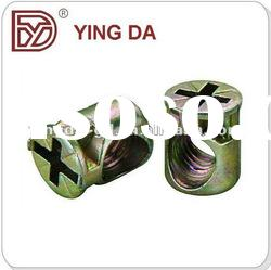 Zinc Alloy Hammer Furniture Connector Nut
