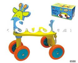 cute Kid's wood rolling carts