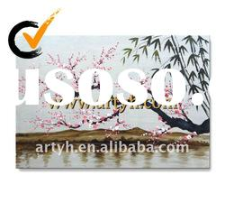 high quality canvas flower oil painting