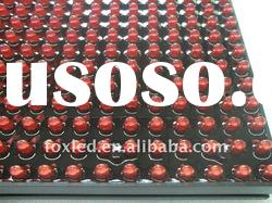 latest technology outdoor red ph10 led display module