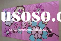100 cotton special flower printed bath towel