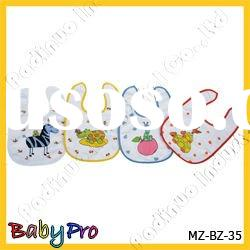 2011 cotton and terry towel fabric baby bib