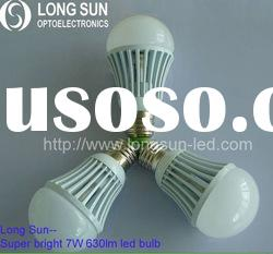 2011 high quality led global bulbs light 7W
