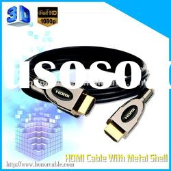 2012 HOT SALED MALE TO MALE 1080P HDMI CABLE