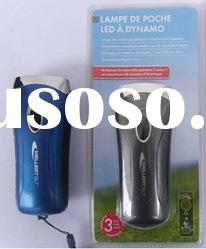 3 LED Dynamo Torch with belt