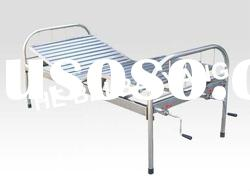 All stainless steel Double-Function Manual Hospital bed