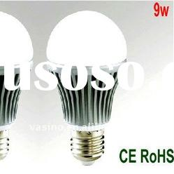 E26 LED Bulb 9w 100-240v high power LED LB01-9w