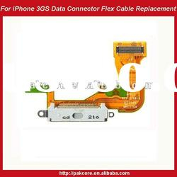 For iPhone 3GS Data Connector With Flex Cable Replacement-White