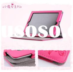 HOT Smart cover leather case for iPad 2 with stand