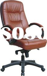KB-9611A,leather executive chair,boss chair,high back with headrest