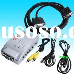 Mutil-function VGA to Video converter box