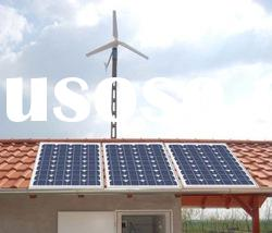 Off-grid Solar and Wind power System