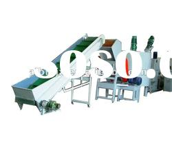 PET bottle washing and recycling production line