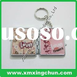 Photo frame metal keychain Ideal for souvenir