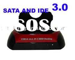 "USB3.0 to 3.5""/2.5"" SATA/IDE HDD Docking Station"