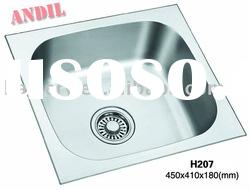 #H207 Andil top grade stainless steel topmount kitchen sink