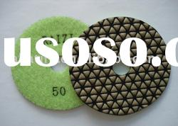 diamond flexible dry polishing pad