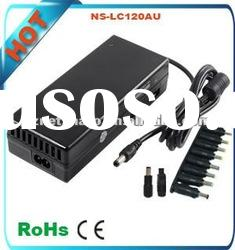heavy duty battery charger 120W usb port 5v 1A black color