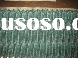 pvc coated chain link fence 60mmX60mm;chain link fence