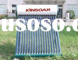 unpressurized compact evacuated tube solar water heater