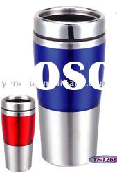 16oz/450ml double wall stainless steel inner auto mug