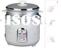 1.8L flower tinplate rice cookers(straight cooker,700W,electric cooker,straight rice cooker)