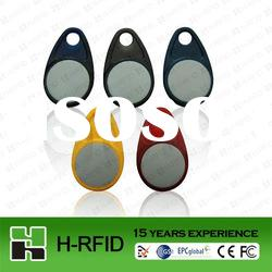 2012 China new design plastic RFID key tag for door access control accept Paypal