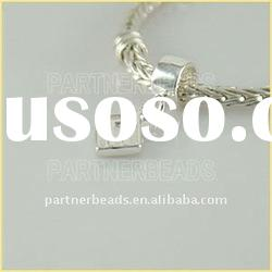 2012 Fashion dangle charms 925 bracelet