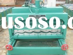 30-207-828 corrugated glzed tile roof roll forming machine