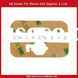 3M Adhesive Sticker For iPhone 3GS Digitizer&LCD