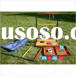 3 In 1 Bean Bag Toss Game/Ladder Toss Game