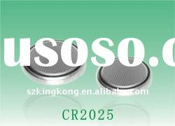 3v Lithium Manganese CR2025 button cell battery