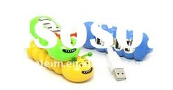 4-Port Caterpillar USB Hub, bug Design USB HUB