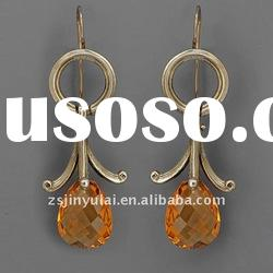 925 silver jewelry of basketball wives earrings
