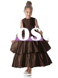 Ball Gown Scoop Taffeta Flower Girl Dresses